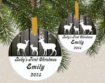 ornament, suncatcher,Baby's 1st Christmas ornament, family ornament, 1st christmas ornament, personalized ornament, custom ornament