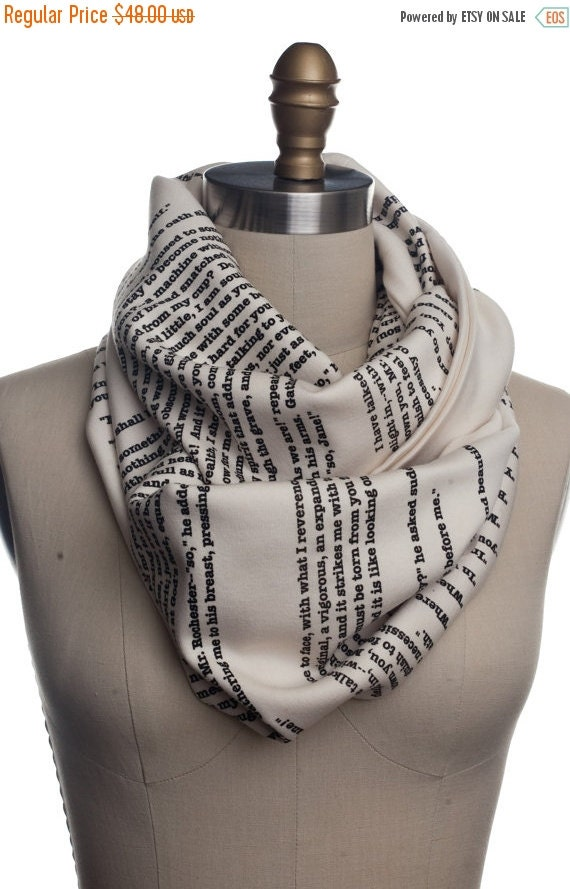 ON SALE: Jane Eyre Book Scarf