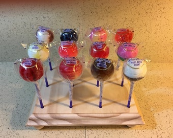 Holds 12 Cake Pops, All Wood, Cake Pop Stand