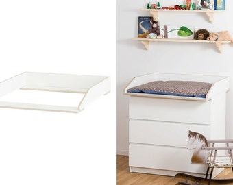 Wrapping attachment to IKEA MALM Chest of drawers / white