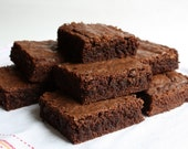 Gluten Free Brownies Baked Fresh only upon ordering shipped Whole in Square 9x9 youc an cut The Size You want !