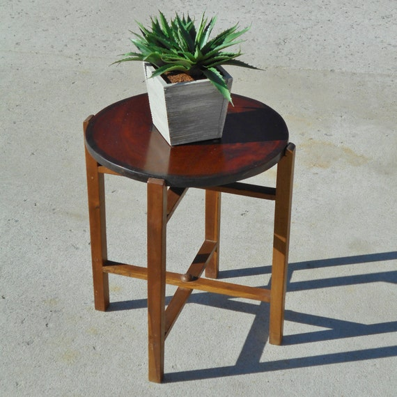Haiti Table Small Vintage Table Folds Flat As Is Wooden