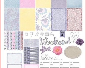 For Sentimental Reasons Printable Stickers for The Happy Planner
