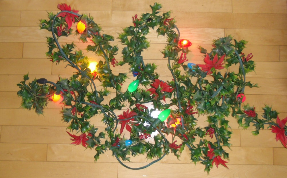 Vintage Christmas Decorations 1950s Garlands With