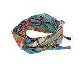 Blue fashion headband,  Turban headwarp, Fabric headband, Fashion Hair Accessories , Hair accessories for women