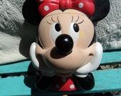 Plastic head of Minnie Mouse- RESERVED FOR HOLLY