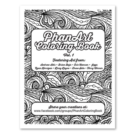 The PhanArt Coloring Book