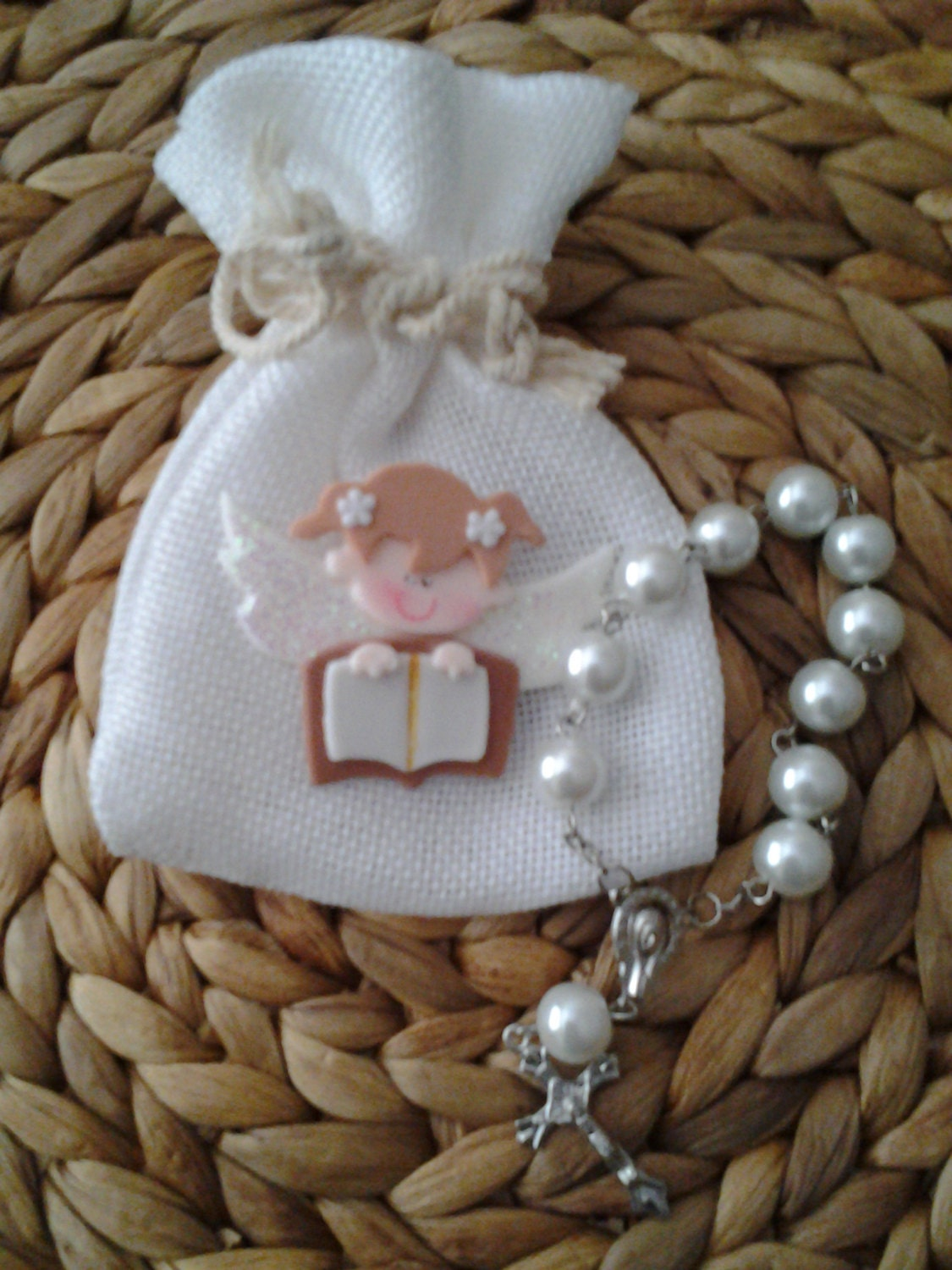 Girls First Communion Favor Rosary Favors