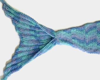 Mermaid Tail Blanket Crocheted Mermaid Tail Mermaid Blanket Infant Kids Adult Sizes