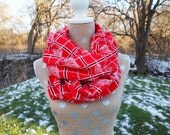 Detroit Red Wings Flannel NHL Hockey GameDay Infinity Scarf