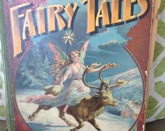 1800's Antique Andersen's Fairy Tales Book