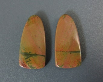 SALE  Beautiful pair of cherry creek  cabochon B6069