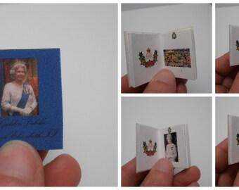 Gaël  Miniature   Album Queen Elizabeth golden jubile