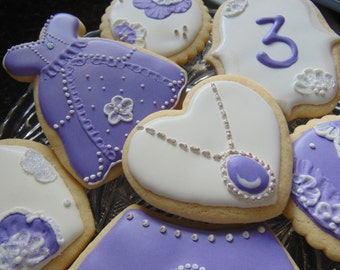 Sofia the First Sugar Cookies