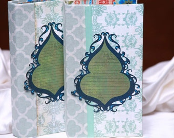 Scrapbook Album - SET OF TWO, for Instax or Wallet Photos