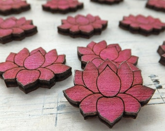 20 LIL WATERLILIES - Pink Watercolor Blossoms - Special Edition! - Limited Quantity Available!