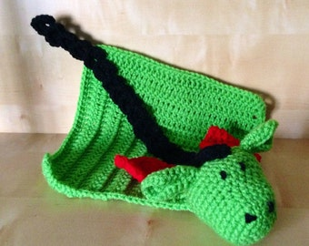 Baby Lovey Blanket, Dragon Lovey Blanket, Lovey Toy, Dragon Blanket, Dragon Toy, Baby Shower Gift, Gift for Baby