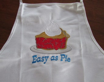 Embroidered Apron - A Bakers Delight