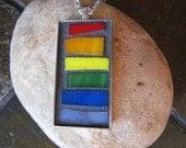 Rainbow-licious! Pendant necklace #DLJ0092