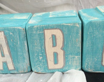 Primitive Baby Blocks