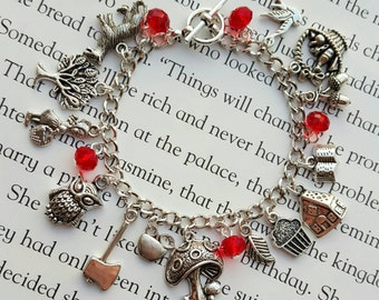 Little Red Riding Hood Charm Bracelet