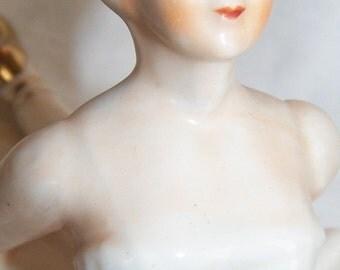 Vintage Porcelain Figurine Odette Swan Lake Ballerina Arms Back Pose Beautiful
