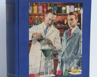 Great Moments in Science Book Youth 1926 Scientists