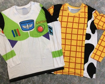 Buzz or Woody Long-Sleeve T-Shirts
