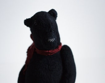 Made To Order Black Teddy Bear Leonid Toys Stuffed Animals