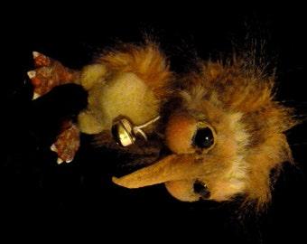 ooak baby dodo bird by No Tua Lyke