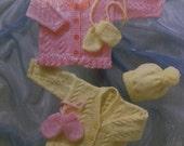 "UK/EU SELLER pdf Knitting Instructions Cable Round V-neck Cardigans Hat & Mitts. Dbl Knit. Stylecraft 8040.  Chest 12-22"" (30-56cms)"