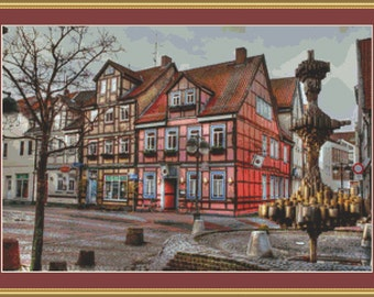 Uelzen Cross Stitch Pattern