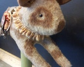 OOAK Hand made Primitive Spotted Pig