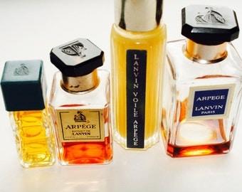 Vintage Aperge Lanvin collection-perfume lot-lanvin lot