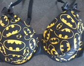 Batman Logo inspired bra