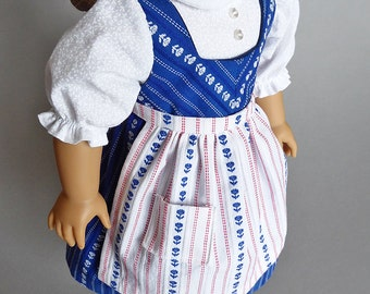 Dirndl outfit for American Girl doll