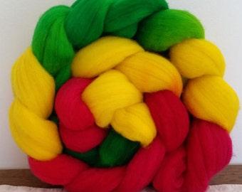 Wool Roving- Peppi