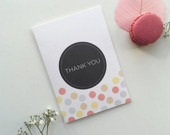 Confetti - A6 Thank You Cards with Envelopes