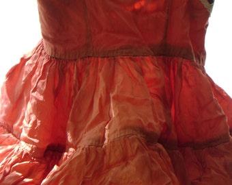 vintage handmade toddler dress