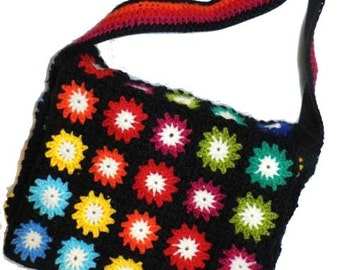 Multicolour * FloWer PoWer * Crochet Bag Granny