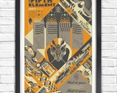 The Fifth Element- 1997 - 19x13 Poster