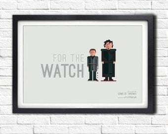 Game of Thrones - OLLY & JON - 19x13 Poster