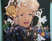 Signed Debbie Reynolds playbill from Vegas