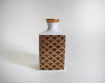 vintage japanese porcelain bud vase