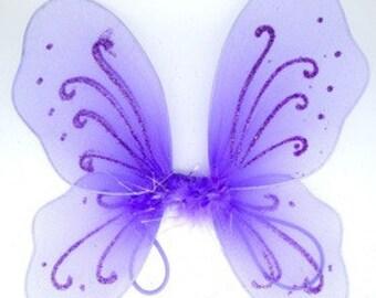 Purple Baby Butterfly Wings
