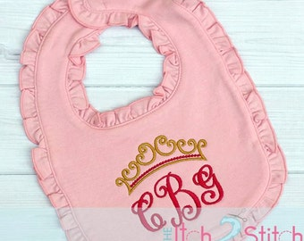 Personalized baby bib cloths- baby shower gift.