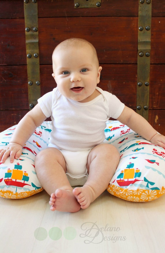 Organic Nursing Pillow Cover Whale Of A Time Organic Boppy