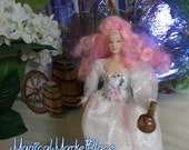 "1/12th Fairy  ""Merry"" ooak miniature bringer of wellbeing"