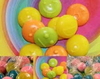 10 Emoji soaps/DIY favors/Birthday party favors/Unisex fun soaps
