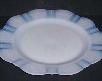 MacBeth Evans Monax AMERICAN SWEETHEART 10 Inch Dinner PLATE